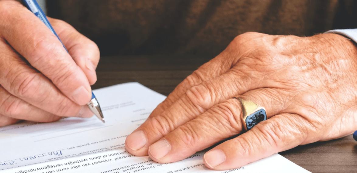 Contrat signé